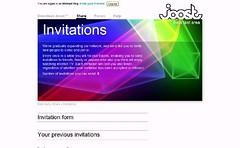 2007-03-01 Joost Invites
