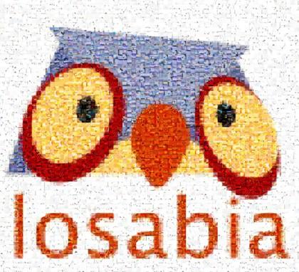 owl logo - image mosaic