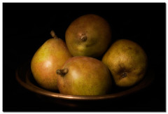 Honey Pears by borealnz