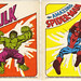 Trix General Mills cereal Hulk & Spider-Man Stickers - 1979