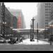 State Street, Chicago Snowstorm