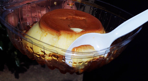 Flan at Leo's Greek Castle