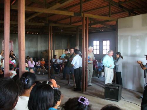 dedication ceremony
