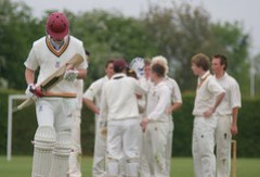Roses: Cricket, Mens 2nds (Lewin out)