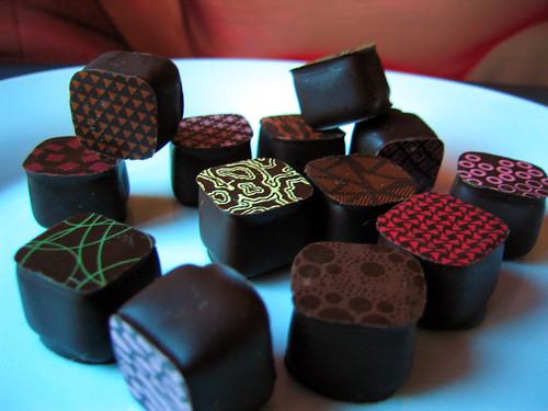 Little Richart chocolate cubes