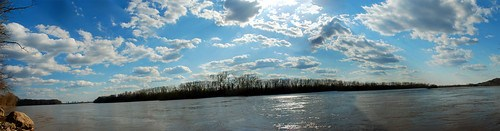 missouri river panorama
