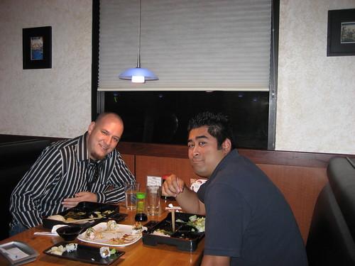 Dinner with Chris Marsden