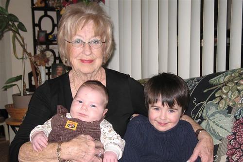 Great-Grandma, Xavier and Khéna