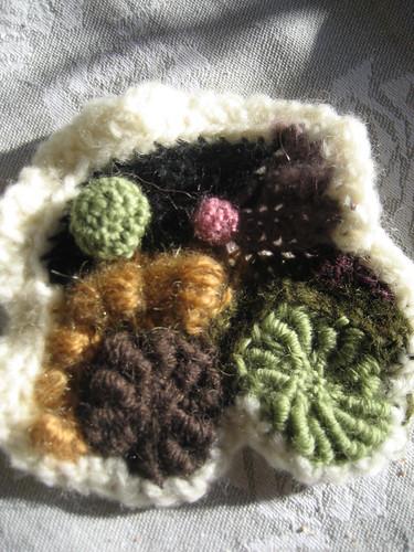 Free form crocheting