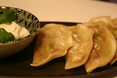 Chipotle Pork Gyoza