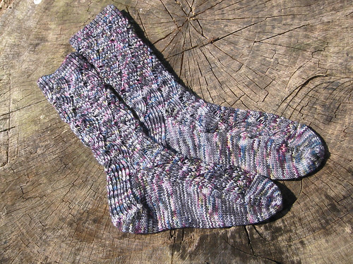 pot socks finished