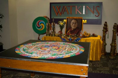 Sand Mandala at Furman