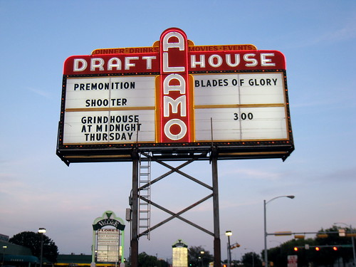Over the years, the Drafthouse has become a mecca for moviefiles around the world. ~photo by Bruce Turner