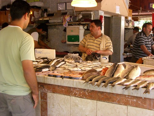 Fethiye fish market