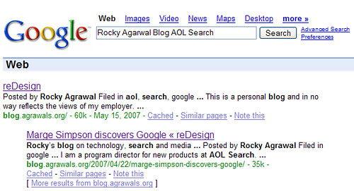 Me on Google