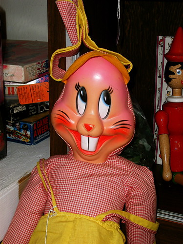 Creepy Bunny at Antique Depot