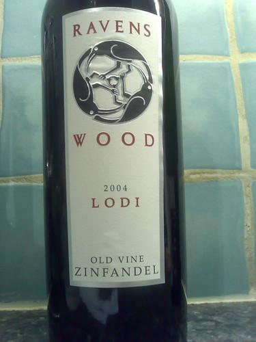 Ravens Wood Lodi 2004 Old Vine Zinfandel