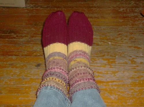 Rolling Thunder Socks, complete