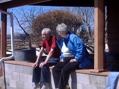 Grandpa and Mom