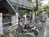 Two layer bike parking