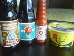 Soy Sauce & Chilli Sauce