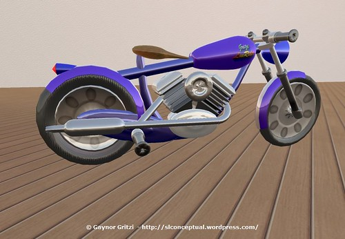 Lowrider Motorcycle 007