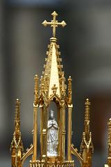 Monstranz St.Hubertus