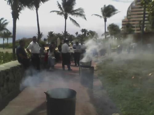 Burning the chametz