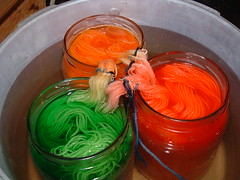 Dyeing In Progress