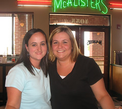 Me and Kim at our favorite place.