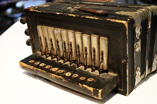 Antique Piano Accordian