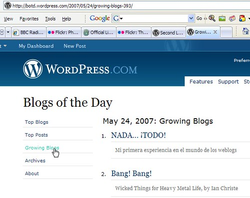 Wordpress Growing Blogs 1