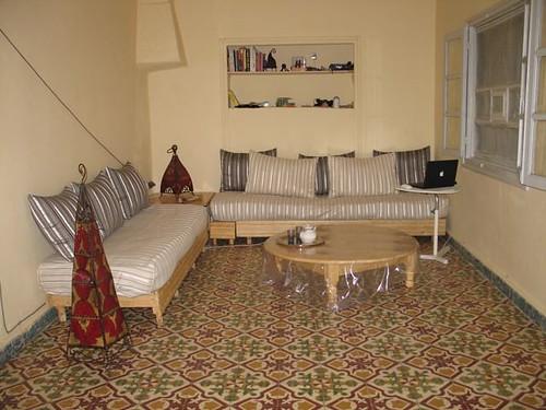 Sala menjador casa Goulmima