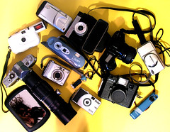 051807 My Cameras with Notes.