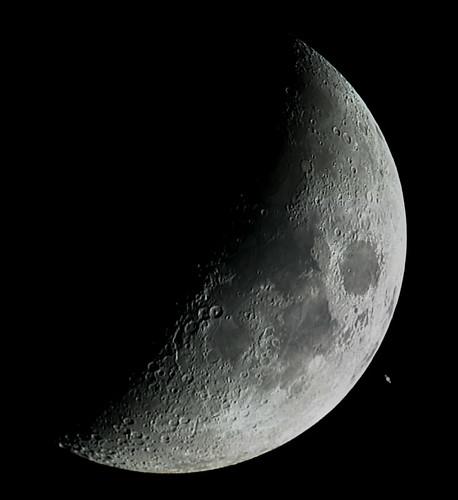 Moon & Saturn