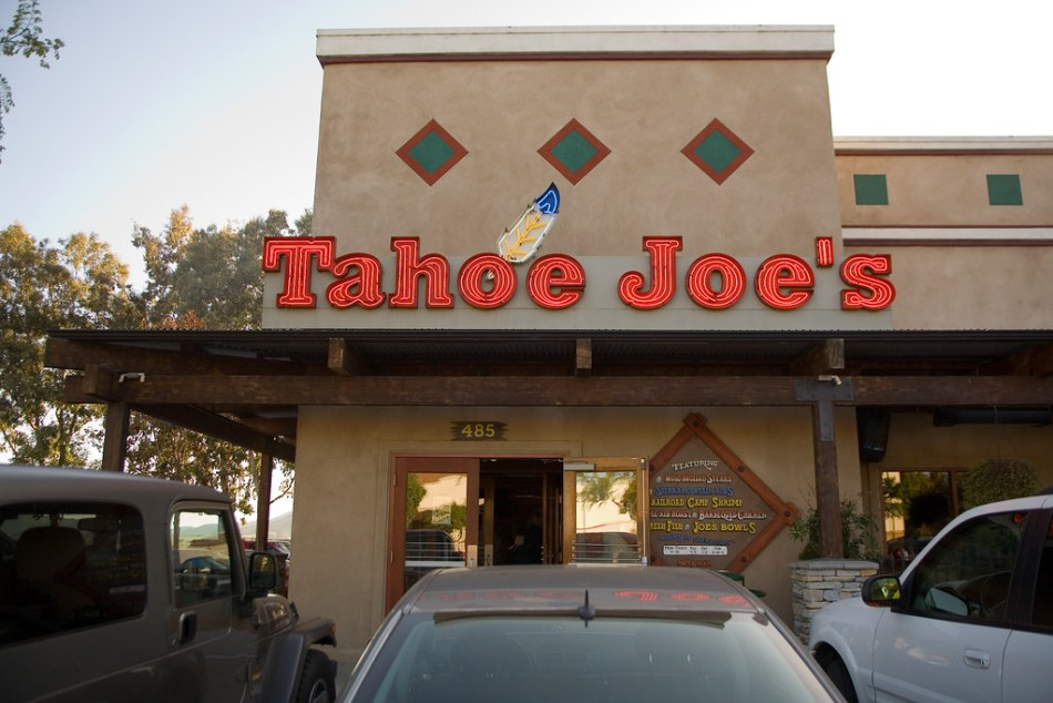 Tahoe Joe's, San Luis Obispo (Day 7/365)