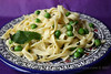 Fresh Lemon Pasta with Spring Peas and Mint