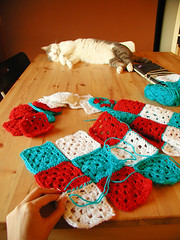 Pablo and Granny Squares I