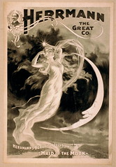Antique Poster - Maid of the Moon