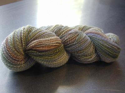 Cricket Handspun sock yarn