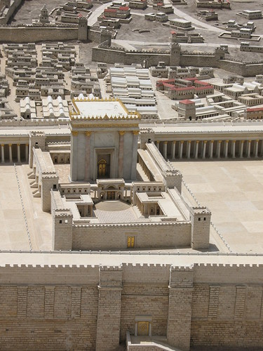 Herod's Temple on Jerusalem model_1358 by hoyasmeg.