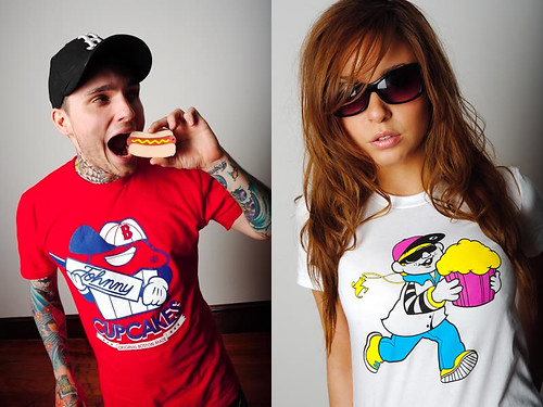 T-Shirts by Johnny Cupcakes