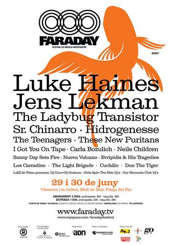 Faraday 2007