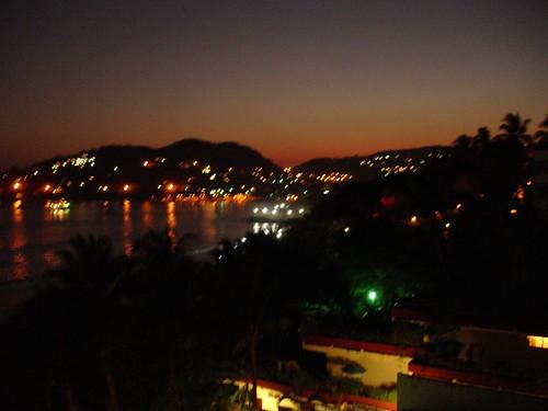 the bay at night