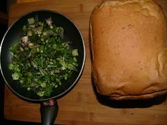 bread, broccoli & asparagus