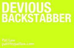Devious Backstabber