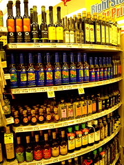 A selection of cooking oils