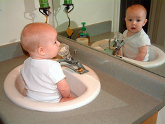 Playing in the Sink