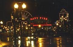 Navy Pier at night, November 2004