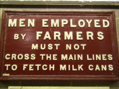 Men employed by farmers